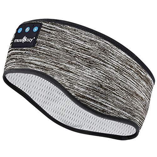 TOPOINT - Auriculares inalámbricos para dormir, diseño de diadema con Bluetooth, para entrenamiento, correr, yoga