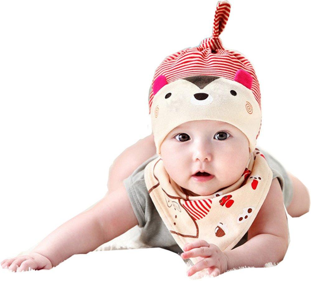 Toddler Infant Baby Kids Winter Cartoon Rabbit Ear Hat Baby Cap Warm Knitted Cap