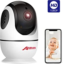 Wireless Security Camera 1080p, Home Smart WiFi Camera Indoor 360 Degree Pan/Tilt/for..