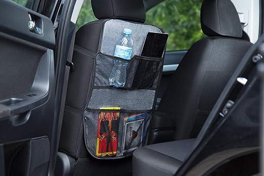Ferocity Auto Rücksitz Organizer Multi Tasche Rückenlehnenschutz Sitzschoner Lehnenschutz Autos Türkis 030 Baby
