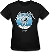 RZF Women's Metallica 2015 Album Logo T-Shirt- Black