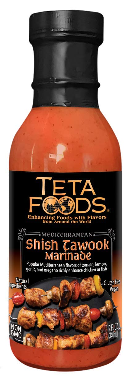 Teta Foods Marinade Low price and Cooking Sauce Mediterranean Max 59% OFF for Chicke