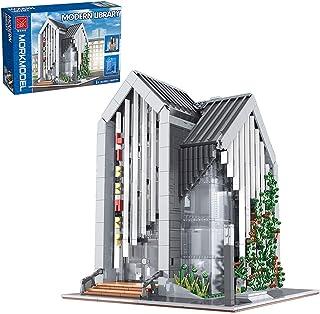 YaYashow Modular Buildings, Science-Fiction Bank Architecture Building Set, 4185Piece Construction Toy Compatible with Leg...