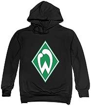 MSKOOK Men's SV Werder Bremen Hooded Sweatshirt