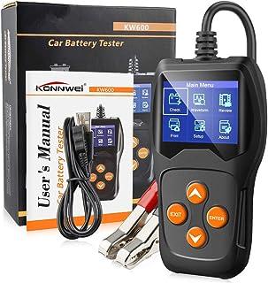 GZCRDZ KONNWEI KW600 Auto Battery Analyzer 100 to 2000CCA Car Tester 12V Digital Color Screen Cranking Charging Car Diagno...