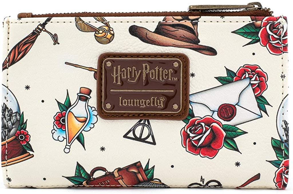 Loungefly x Harry Potter Wallet Tattoo All-Over Print quality Rare assurance