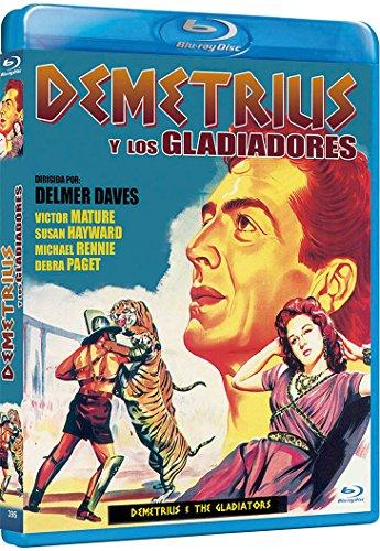 Demetrius y los gladiadores [Blu-ray]