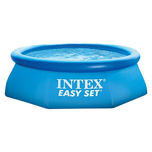 Intex 28112NP - Piscina hinchable Easy Set 244 x 76 cm, 2.419 litros: Amazon.es: Jardín