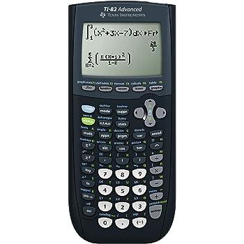 Texas Instruments TI 82 Advanced Calculatrice Graphique avec mode examen
