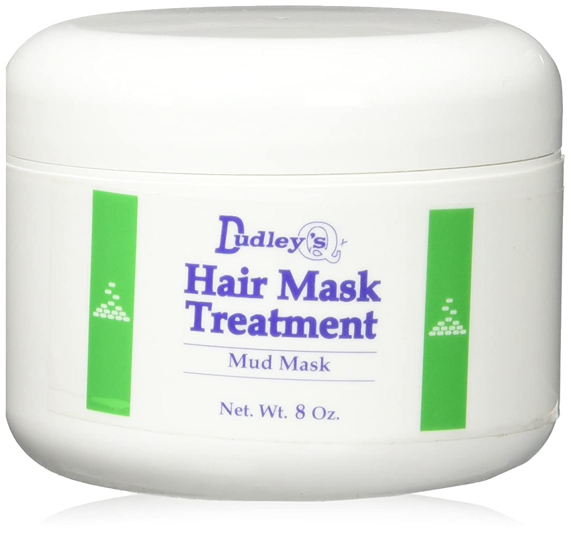 Dudley's Hair Mask Treatment Mud Mask for Unisex, 8 Ounce