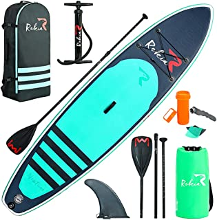 """Rokia R Inflatable Stand Up Paddleboard 11' (6"""" Thick) Premium SUP for All Skill Levels"""