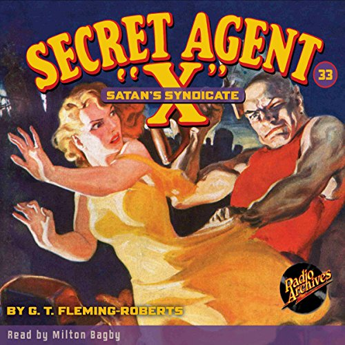 "Secret Agent ""X"" #33 audiobook cover art"