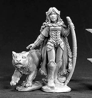 Dark Heaven Legends Aeris, Elf Ranger and Panther