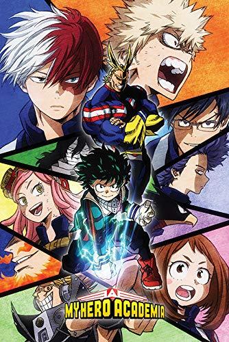 Poster 34412 Characters Mosaic Maxi