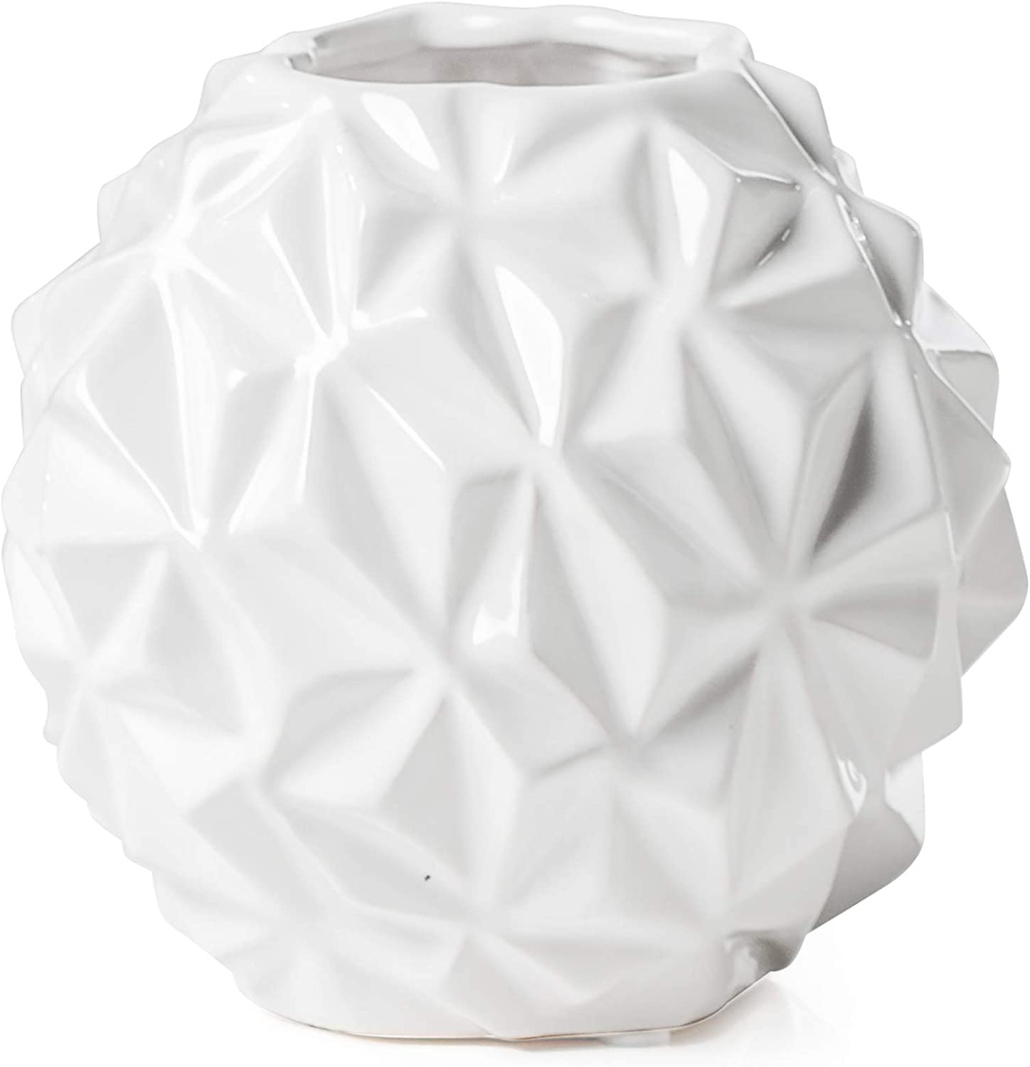 Torre Tagus Crumple Ball White Small National products Vase Portland Mall