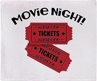 CafePress Movie Night! Soft Fleece Throw Blanket, 50