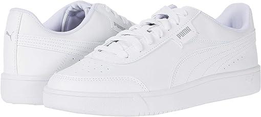 Puma White/Puma White/High-Rise/Gray Violet