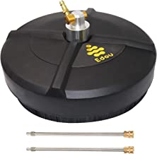 EDOU 15-Inch Pressure Washer Surface Cleaner with 2 Pressure Washer Extension Wand..