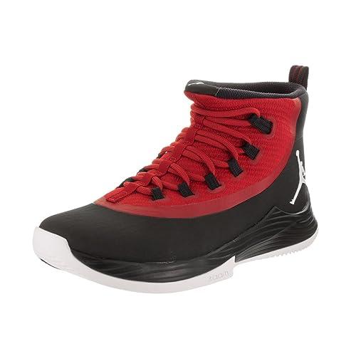 newest f306c b03a0 Jordan Nike Men s Ultra Fly 2 Black White Gym Red Basketball Shoe 11 Men US