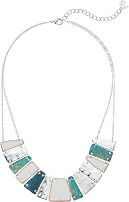 Robert Lee Morris - Silver and Patina Short Statement Necklace