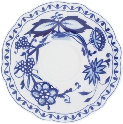Preisvergleich für Kahla Rossella Untertasse, Teller, Porzellan, Zwiebelmuster, 15 cm, 173504A72067U