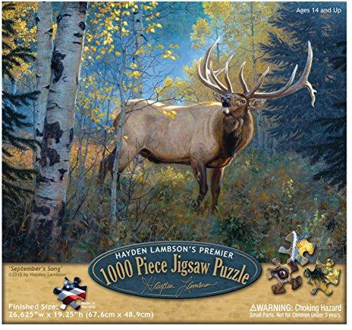 Reflective Art September Song Jigsaw 1000 Piece Puzzle, 11.5' L x 2' H x 9.5' W