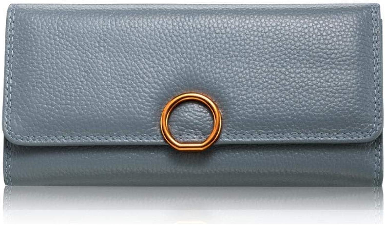 Girls Purse Women's Wallet Leather Lady Wallet Large Lady Purse Wallet 20  10  3cm (color   G)