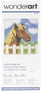 (Pony) - Wonderart Latch Hook Kit 30cm x 30cm -Pony