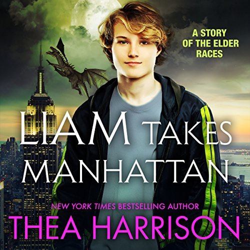 Liam Takes Manhattan audiobook cover art