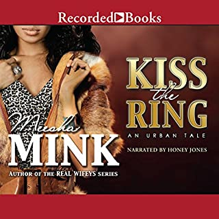 Kiss the Ring audiobook cover art