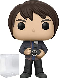Stranger Things Jonathan with Camera Pop! Vinyl Figure and (Bundled with Pop BOX PROTECTOR CASE)