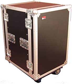 Gator Cases G-TOUR Audio Road Rack with Heavy-Duty Casters and Tour Grade Hardware; 17