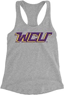 Official NCAA West Chester University Golden Rams - PPWCU07 Womens Racerback Tank Top