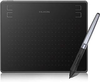 HUION HS64 Tablet de desenho, Tablet Gráfico com Stylus sem bateria, 8192 Níveis de Sensibilidade de Pressão, 4 teclas Exp...