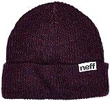 Neff Fold – Mütze, Schwarz/Grau, meliert Einheitsgröße bunt - Navy/Maroon