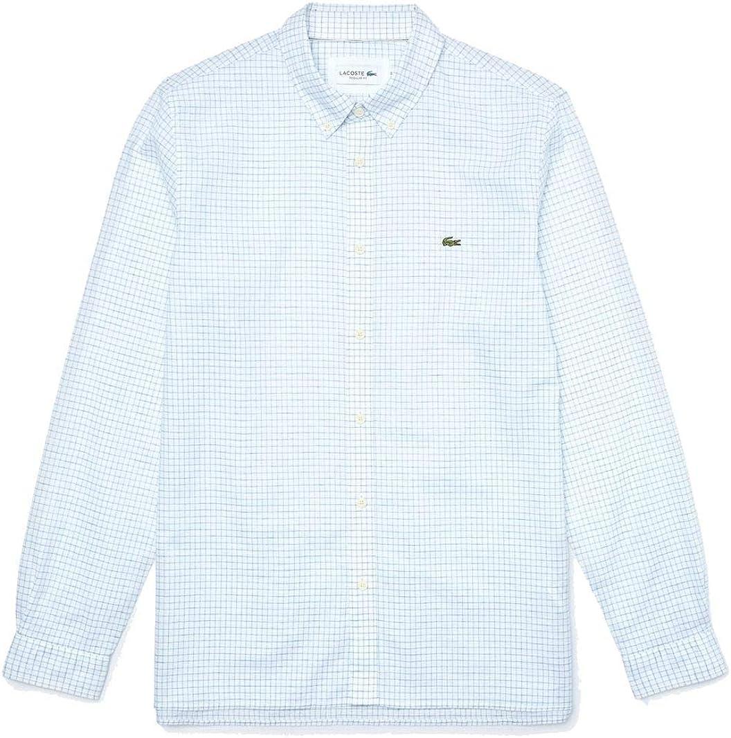Lacoste - Camisa Punto Manga Larga Hombre