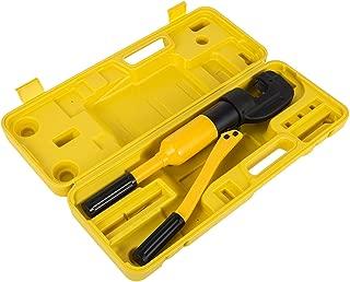 Happybuy Hydraulic Rebar Cutter 16T 7/8 Inch Concrete Construction Tool G-22 Rebar Cutter Cuts 1/8 to 7/8 Inch 4 to 22mm Handheld Hydraulic Rebar Cutter Handheld Reber Cutter