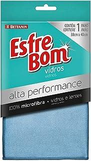 Pano de Vidros, Alta Performance, Azul, Esfrebom