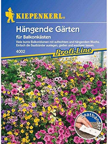 Kiepenkerl Hängende Gärten für Balkonkästen Saatband