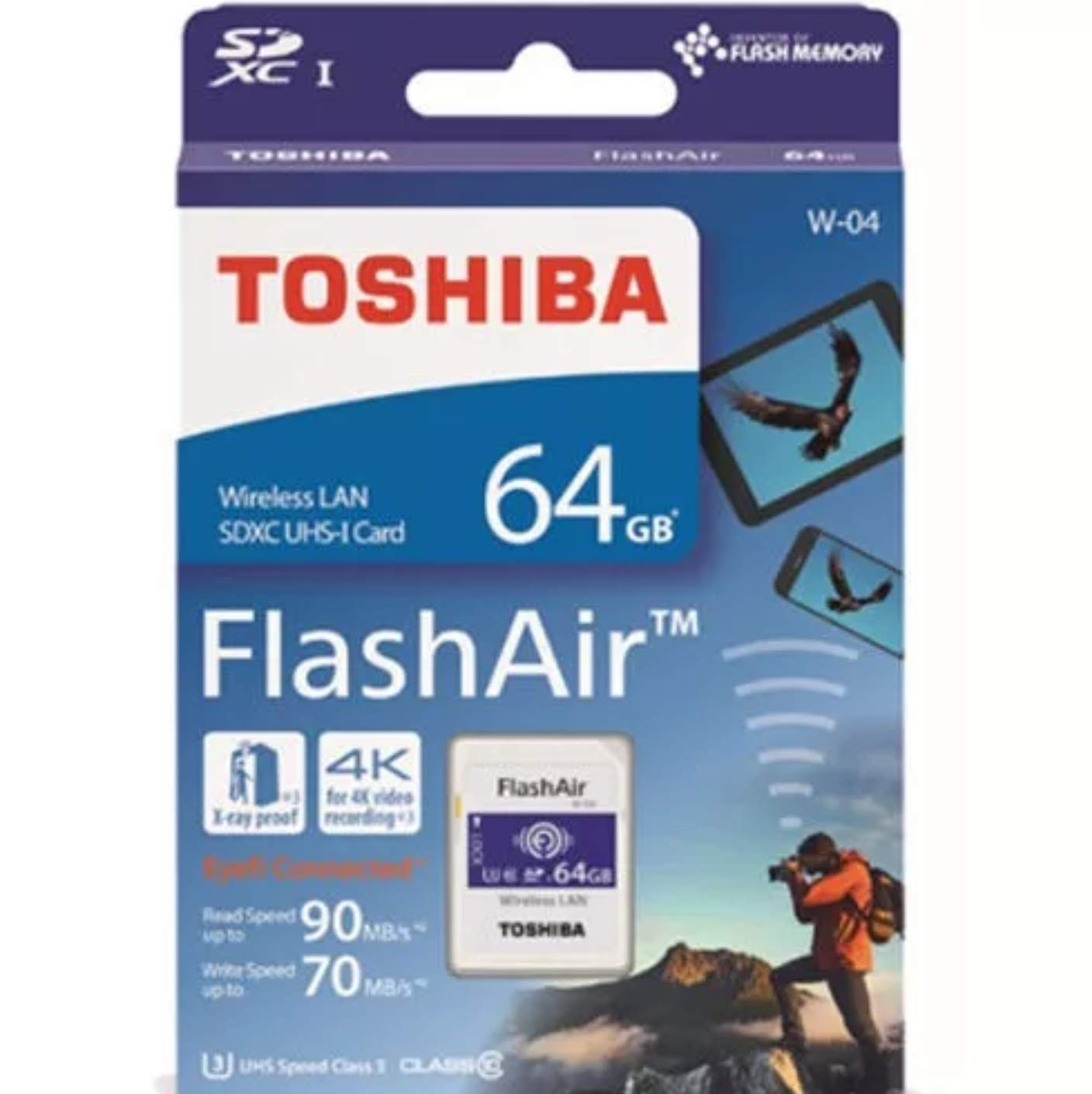 Toshiba FlashAir W 04 Class Memory