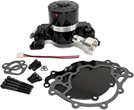 Assault Racing Products 6030202 for Small Block Ford Black Aluminum Electric Water Pump HV SBF 289 302