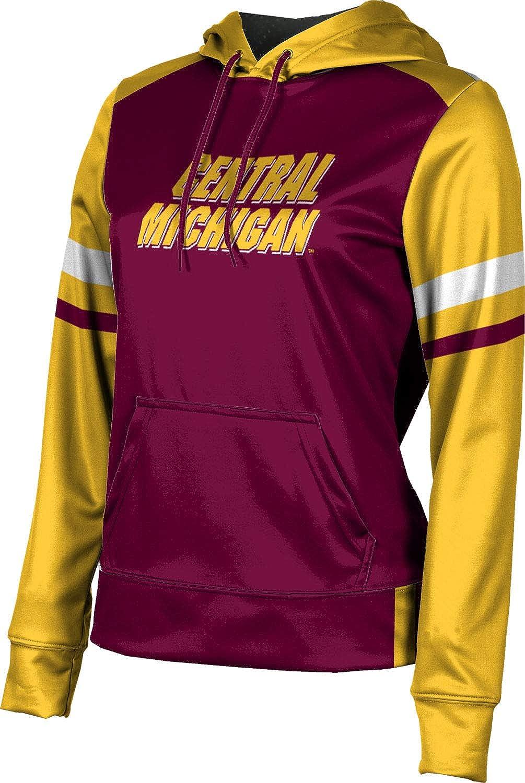 ProSphere Central Michigan University Girls' Pullover Hoodie, School Spirit Sweatshirt (Old School)