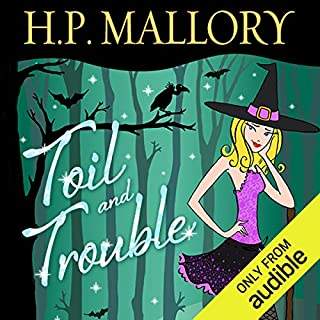 Toil and Trouble audiobook cover art
