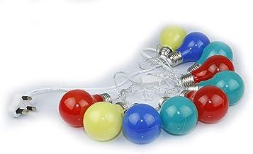 Rosymoment Decorative Led Light, Set of 10, Multi-Colour