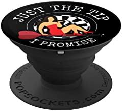 Mens Darts Accessories Tip Dart Player Father's Day Gift - PopSockets Grip and Stand for Phones and Tablets