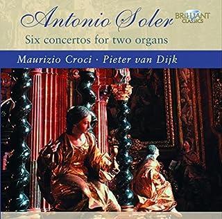 Six Cons Pour Deux Orgues by A. Soler (2008-08-21)