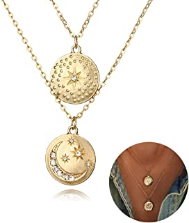 515005f9654a2 Amazon.com: Sun, Moon & Stars - Chokers / Necklaces: Clothing, Shoes ...