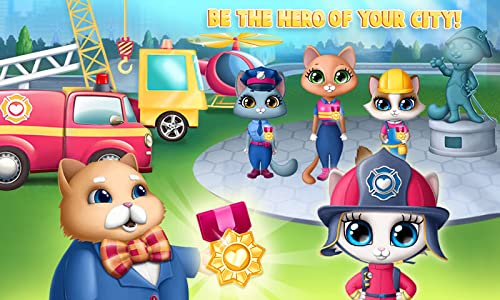 『Kitty Meow Meow City Heroes - The Brave and the Fluffy! Cats to the Rescue!』の6枚目の画像