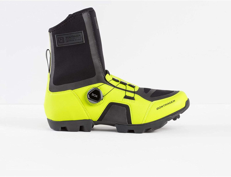 Bontrager JFW Winter MTB Fahrrad Schuhe gelb schwarz 2019