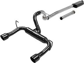 Flowmaster 817844 Cat-back 409S - Outlaw Kit - DOR - Mod/Aggr Sound - Jeep Wrangler JL Exhaust System Kit Cat-back 409S - Outlaw Kit - DOR - Mod/Aggr Sound